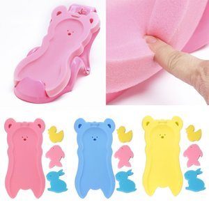 NoEnName-Null Newborn Anti-slip Sponge Pad Baby Bath Tub Bathing Pad Infant Shower Baby Care 201019