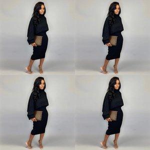 KGTBX A6273 Yün Iki Parçalı Balıkçı Yaka A6273 Yün Elbise Iki Parça Kadın Elbise Kazak Giyim Kadın Giyim Balıkçı Yaka Kazak