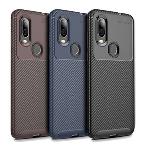 Ultra thin Carbon fiber Phone Case for Motorola Moto G9 Play G7 G8 Power Cover Case for Moto E7 G Fast one 5G plus G stylus E6 P40 P50 coque