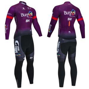 Invierno 2021 equipo de Nueva BH ciclismo Jersey 20D ropa deportiva pantalones MTB Bike Pro Hombres Ropa ciclismo térmica chaqueta de lana montar en bicicleta