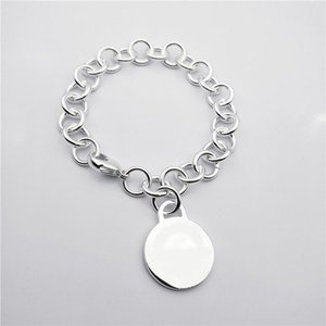 Charme Armbänder Original Paar Armband 925Silver Hohe Qualität Klassische Logo Stempel Tag Liebe Schmuck Geschenk für Frauen