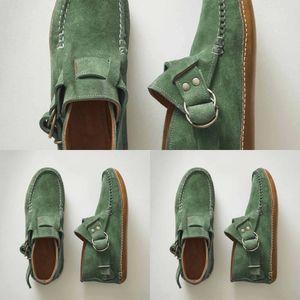 DSRR Shoes Flat Durable Caucho Lona Tacón bajo Liberación Baja Liberación Clásica Militría Calzado Camuflaje Shoes Zapato de trabajo U
