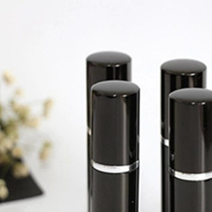 Refill Bottle Black Color Mini Portable Refillable Perfume Atomizer Spray Bottles Empty Bottles Cosmetic Containers Bottles