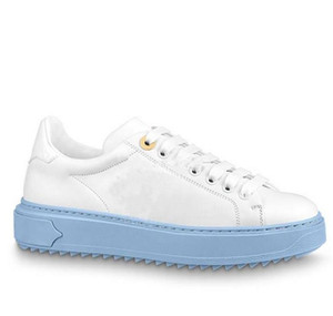 Moda Mujeres Classic New Llegan Time Out Sneakers Zapatos Mujeres Cuero genuino Zapatos Mujer Casual Zapatos Tamaño 37-41