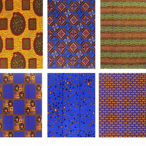 Hot sale Nigerian satin African wax Fabric prints Cotton material Prints Ankara veritable Wax new pagne for sewing dress