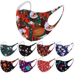 Noel Cadılar Bayramı moda yüz olmayan tek kullanımlık yıkanabilir yüz maskesi ücretsiz gönderim toz geçirmez Toz ve pus yıldızı 3D baskı tasarım maskeleri maske