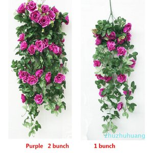 6 Colors Rose Flowers Heads Bouquet Artificial Peony Real Touch Flowers Vine Home And Wedding Party Decoration Free Shipping