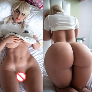 Nuovo 163 cm Fat Big Ass Mezza Silicone Bambola del sesso in silicone a grandezza naturale grande seno di grandi dimensioni Bambole sessuali realistiche vagina amore giocattoli del sesso per gli uomini