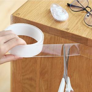 Reutilizable micck mágico nano cinta lavable adhesivo de cinta de doble cara sin pasta de rastreo pegamento extraíble limpiador H