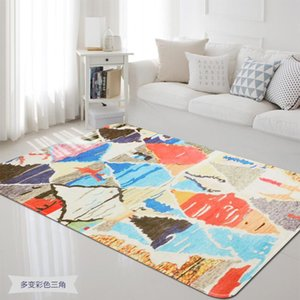 Geometric Abstract Carpets for Living Room Household Decor Soft Carpet Bedroom Coffee Table Study Room Beside Floor Mat Rugs