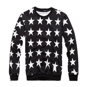Sports And Winter Autumn Fashion Star Round Pullover Baseball Five Sweater Collar Shirt Card Pointed Houdie Sptuo