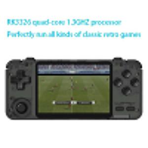 Jugadores de juegos portátiles RK2021 3.5inch Console Retro IPS SN Handheld PS1 N64 Juegos Video Player (64 g)