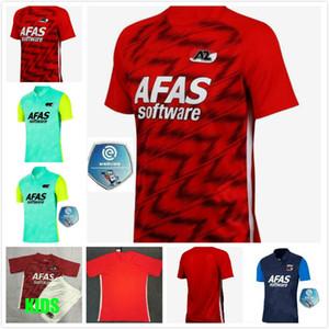 2020 RC Lens Soccer Jerseys 20 21 AZ Alkmaar Home Chemise de football Sotoca Robail Jean Jersey Camisa Futebol Hommes T-shirts