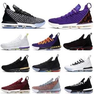 2020 2021 NUEVO LEBRON \ RJAMES \ RLBJ \ 16 16S Jumpman Men Sport Shoes Martin Fresh Bred Oreo Sports Sports Sneakers Mens Entrenadores Tamaño 7-12