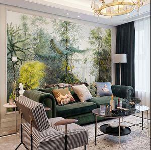 المناظر الطبيعية الفرنسية الفاخرة نوم خلفية خلفيات التلفزيون خلفيات غرفة المعيشة جدار القماش مخصص سلس جدار القماش الزخرفية جدارية