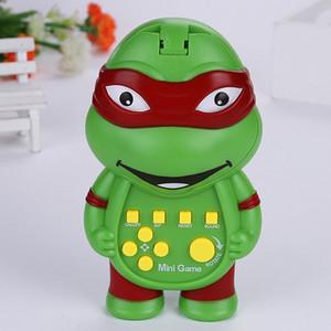 اطفال اطفال الإلكترونية الجديدة لعبة تتريس لعب الكلاسيكية الرقم مضحك يده آلة هدية السلحفاة متعددة الوظائف لغز LJ201105