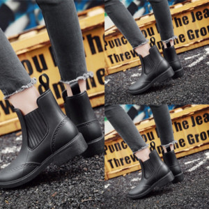 W8a Hot outdoor high quality Sale shoe RAINBOOTS fashion water Kids rainboots rain boots waterproof welly boots water tall Rubber shoes