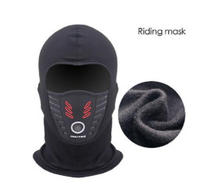 2021 Cold Weather Windproof Thermal Fleece Neck Warm Balaclava Waterproof FaceMask Cycling Riding motorcycle mask thanksgiving gifts