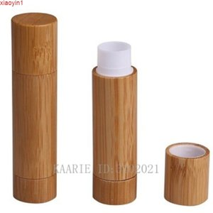 20pcs lot 5ML Directly Filled Bamboo Wooden Lip Balm Tube,DIY Empty Rouge Filler,Cosmetic Lipstick Sub Container,Makeup Toolgood