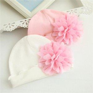 Cute Newborn Baby Hat Toddler Kids Baby Boy Girl Turban Cotton Beanie Flower Hat Autumn Winter Warm Cap casquette enfant 99