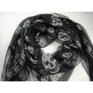 Queen A.M. Multicolor SKULL Scarves 100% Silk , Customer Designate Product