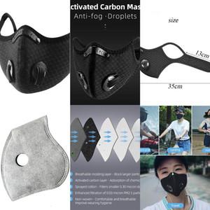 Las máscaras de protección exterior reutilizable mascarilla respiratoria Pm2. 5 Polvo capa estirable cara a los adultos XUV9NPY3 2BVN Fxxbl