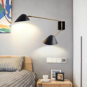 Artpad Nordic post-moderna G9 salone Lampada da parete creativa coperta Duckbill paralume girevole Long Arm riparo della parete di casa Luce