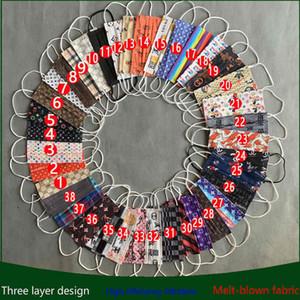 Filtration 39 meltblown style Efficacité Designer Anti-poussière 95% Masque jetable anti-poussière Prévention de la grippe visage