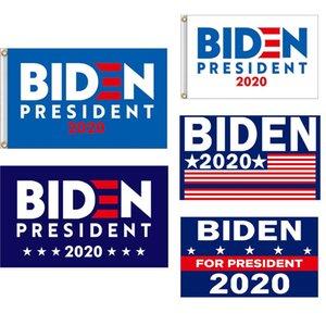 2020 Banderas Biden Elección General Banner 2020 EE.UU. Elección Presidencial BIDEN Banner 90 * 150cm 5 estilo puede ser personalizado XD23827