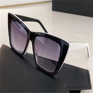 276 Sonnenbrille Mode Frauen Dreieck Katzenauge Formatfüllend SL276 beliebtes Modell UV400 Objektiv-Sommer-Art Schwarz Weiß Rot Farbe mit Paket Kommen