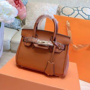 sacs à main de grains classiques Litchi pincent simples sacs Crossbody d'épaule sac fourre-tout paquet platine amovible dames bandoulière sac emplettes