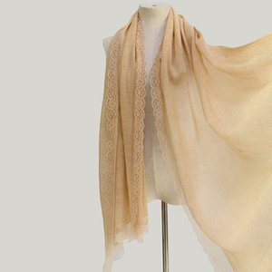 Hot Sale-100% Wool Shawl Luxury 80S Hollow Lace Scarf Fashion Thin And Soft Cashmere scarves women Winter Keep Warm shawls