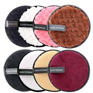 Makeup Remover Pads Microfiber Reusable Face Towel Make-up Wipes Cloth Washable Cotton Pads Skin Care Cleansing Puff