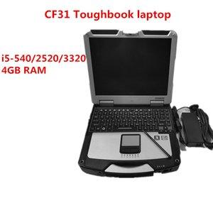 لأجهزة الكمبيوتر المحمول P.anasonic CF31 ثلاثة حماية i5 و وحدة المعالجة المركزية 4GB RAM العسكرية تشخيص السيارات اختبار الحاسوب CF31 cf31Toughbook PC