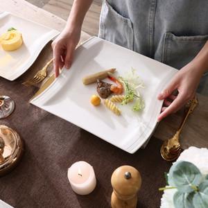 Malacasa Flora Dîner de vaisselle en porcelaine blanc de 30 pièces avec 6 * tasses, soucoupes, soupe de dessert Soup diner plaques Set Service 6 personnes C0121