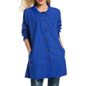 Women Lightweight Waterproof Coat Female Raincoat Jacket Packable Ladies Fashion Coat