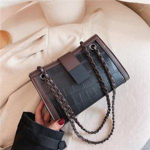 Bags PU Winter For Bags 2021 New Fashion Handbags Women Quality Pattern Leather Shoulder Stone High Luxury Female Crossbody Bag Bgidv