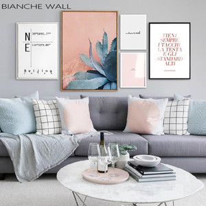 Scandinavian Succulent Plant Cactus Poster Nordic Botanical Art Canvas Print Wall Painting Modern Living Room Decoration Picture