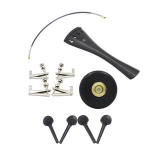 5-in-1 Ayarlama Spinner / 'Çello Peg / Tailpiece / Kuyruk Gut / Pad 4/4 Çello Parçaları için