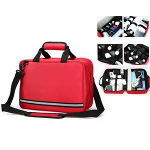 Leere Erste-Hilfe-Taschenautos Medical Bag Erste-Hilfe-Not-Not-Survival-Kit für Camping-Reisetasche Große Größe (39x16x26cm) C1008