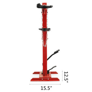 3T auto strut Car safe spring compressor hydraulic system 495-820mm adjustable size Fits most vehicle models and sizes
