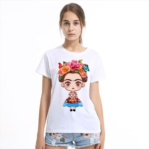 2020 Hot Summer Women T shirt Funny Best Friends T Shirt Donut And Coffee Duo Flowy Print Tees Couple Tops