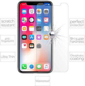 For Iphone 12 Mini Pro MAX HD Clear Screen Protector 9H Anti-Scratch Bubble Free Shatter Proof Case Friendly Tempered Glass With Package