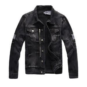 Herrenjacke Mode Mantel Männer Frauen Denim Mantel Casual Hip Hopstylist Jacke Herren Kleidung Größe M-4XL