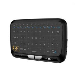 H18 Taşınabilir Mini TouchPad Klavye Akıllı TV PC Telefon Için Kablosuz Hava Fare1