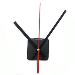 10set Silent large wall Quartz Clock Movement Mechanism Black & Red Hands Repair Tool Parts Kit DIY Set 9  12  15  17  20  24mm