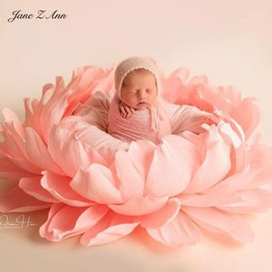 Jane Z Ann Newborn Fotografía Auxiliar Props Flower Petals Props Baby Studio Disparo Accesorios1