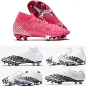 زئبقي ال superfly 360 السابع 7 أحذية النخبة FG كرة القدم CR7 SE نيمار الرجال المرأة الاطفال Outdor أحذية كرة القدم المرابط US3-11