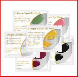 6 Colors LANBENA 24K Gold Eye Mask Collagen Eye Patches Anti Dark Circle Puffiness Eye Bag Moisturizing Skin Care