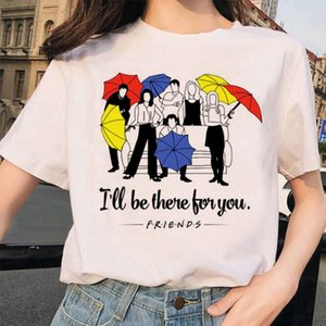 T Shirt Women Top New Harajuku Summer Fashion Casual Friends TV Show Kawaii Vogue Best Friends Shirts Tee Tops Ladies Clothes